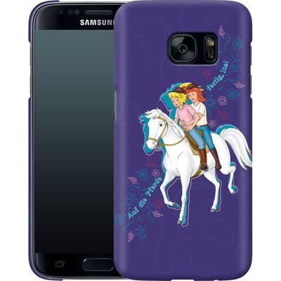 Samsung Galaxy S7 Smartphone Huelle - Bibi und Tina Pferd von Bibi & Tina