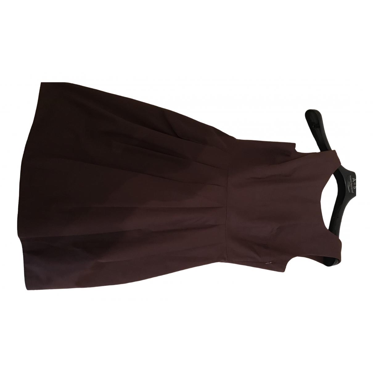 Dondup - Robe   pour femme en coton - bordeaux