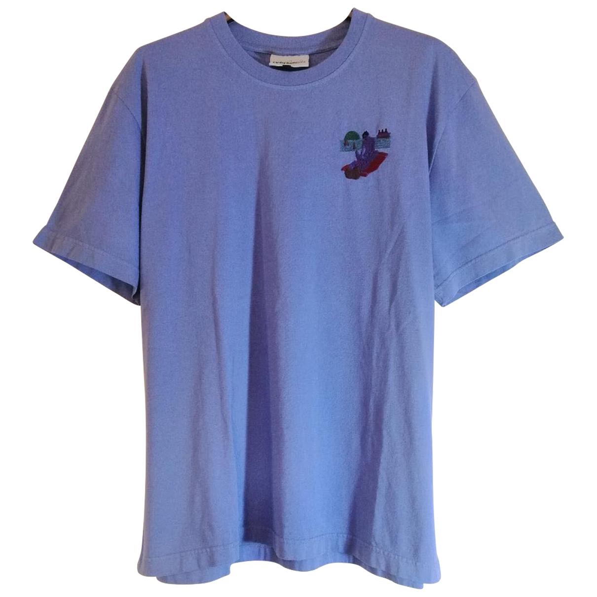 Carne Bollente - Tee shirts   pour homme en coton - bleu