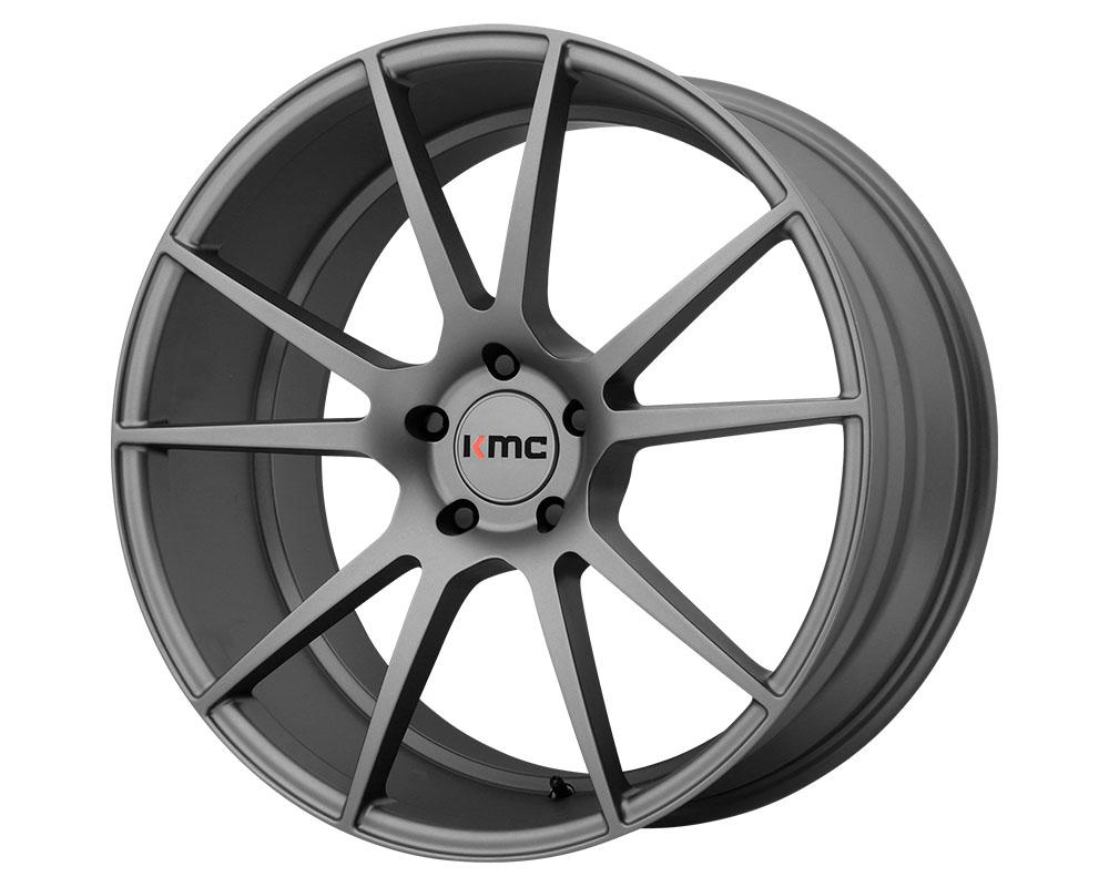 KMC KM709 Flux Wheel 20x10 5x5x114.3 +40mm Charcoal