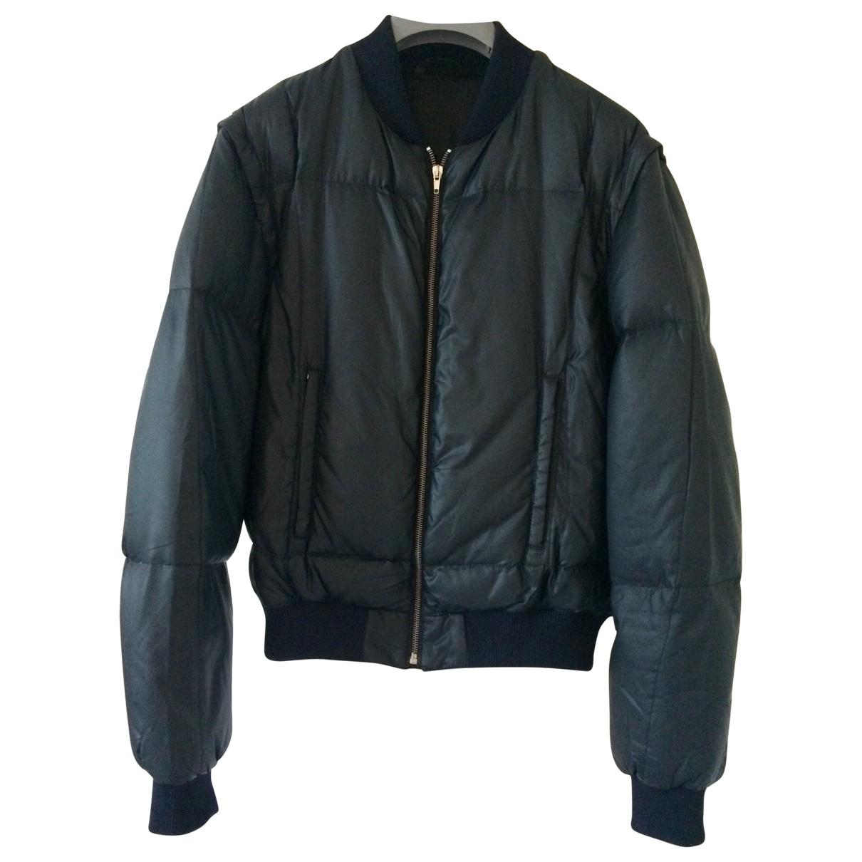 Raf Simons - Manteau   pour homme - marine