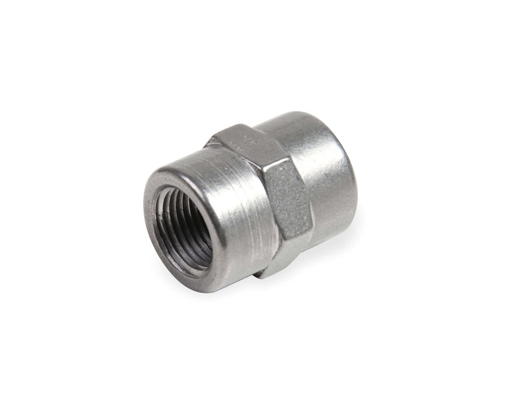 Earl's Performance SS991002ERL 1/4 NPT COUPLING STAINLESS STEEL