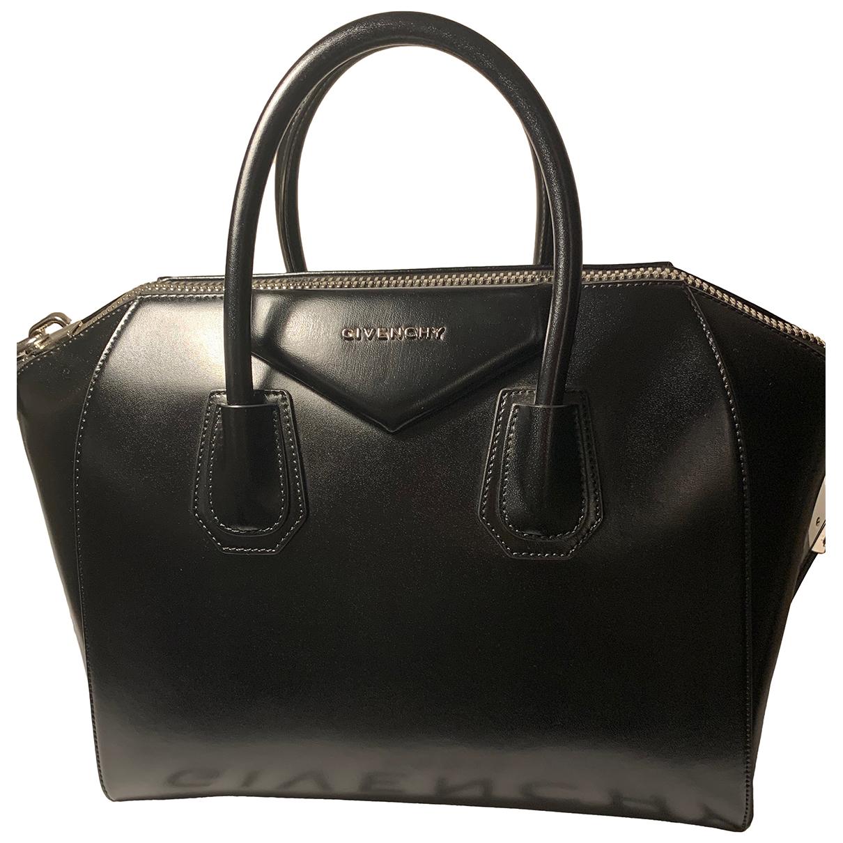 Givenchy Antigona Black Leather handbag for Women N
