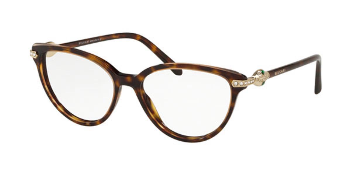 Bvlgari BV4171B 5465 Women's Glasses Tortoise Size 52 - Free Lenses - HSA/FSA Insurance - Blue Light Block Available