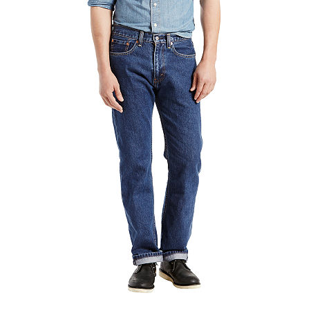 Levi's Mens 505 Straight Regular Fit Jean, 42 30, Blue