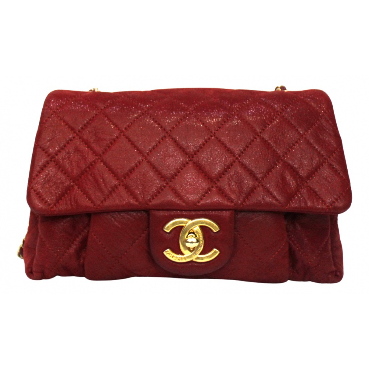 Chanel \N Red Leather handbag for Women \N