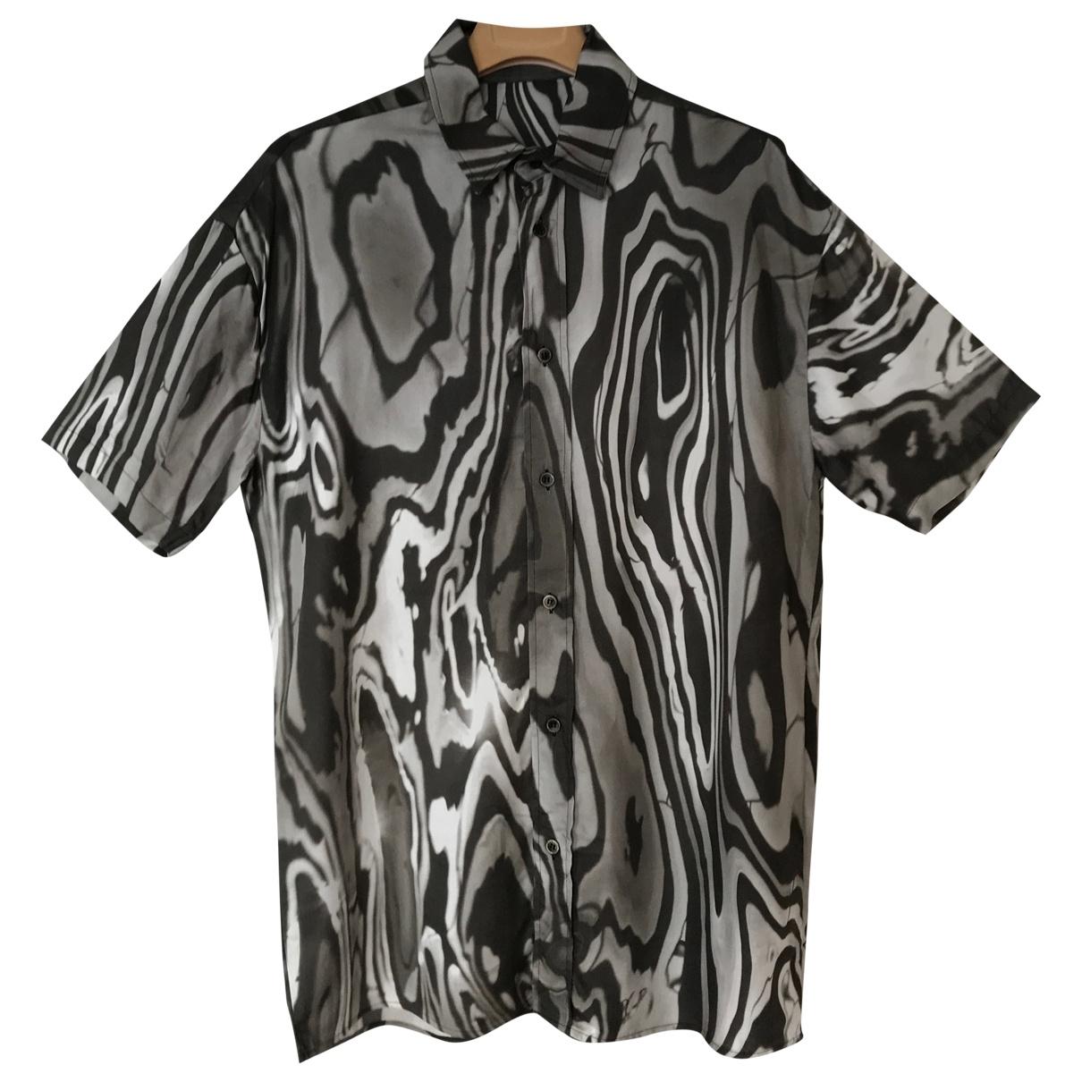 Non Signé / Unsigned \N Black Cotton Shirts for Men M International
