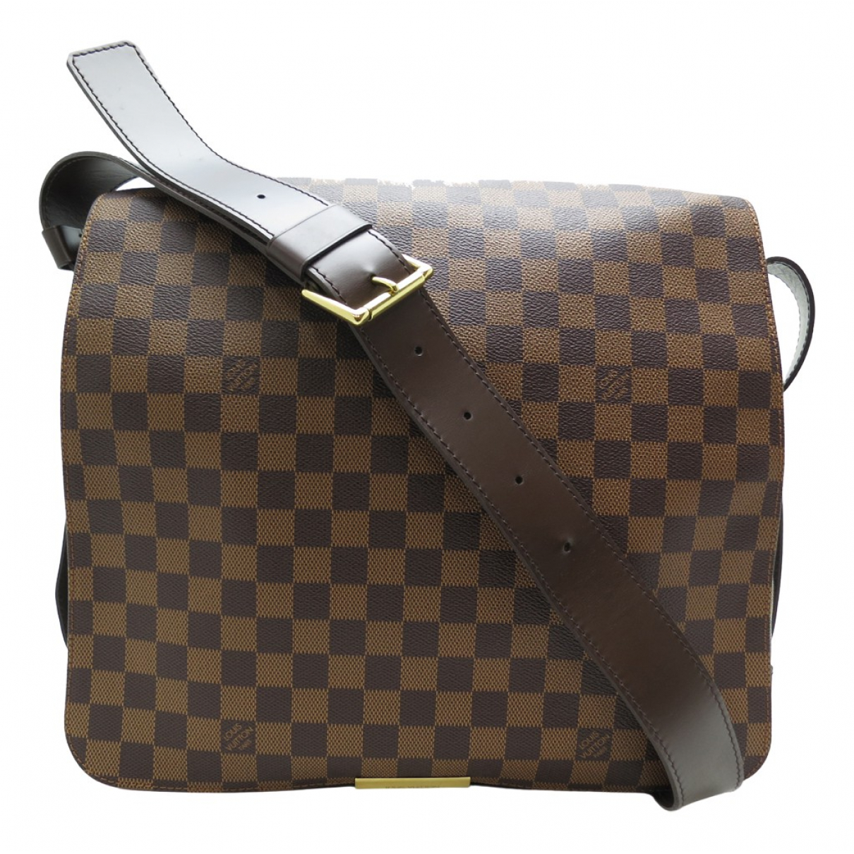 Louis Vuitton Bastille Brown Cloth bag for Men N