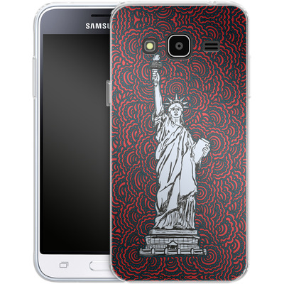 Samsung Galaxy J3 (2016) Silikon Handyhuelle - Liberty von Kaitlyn Parker