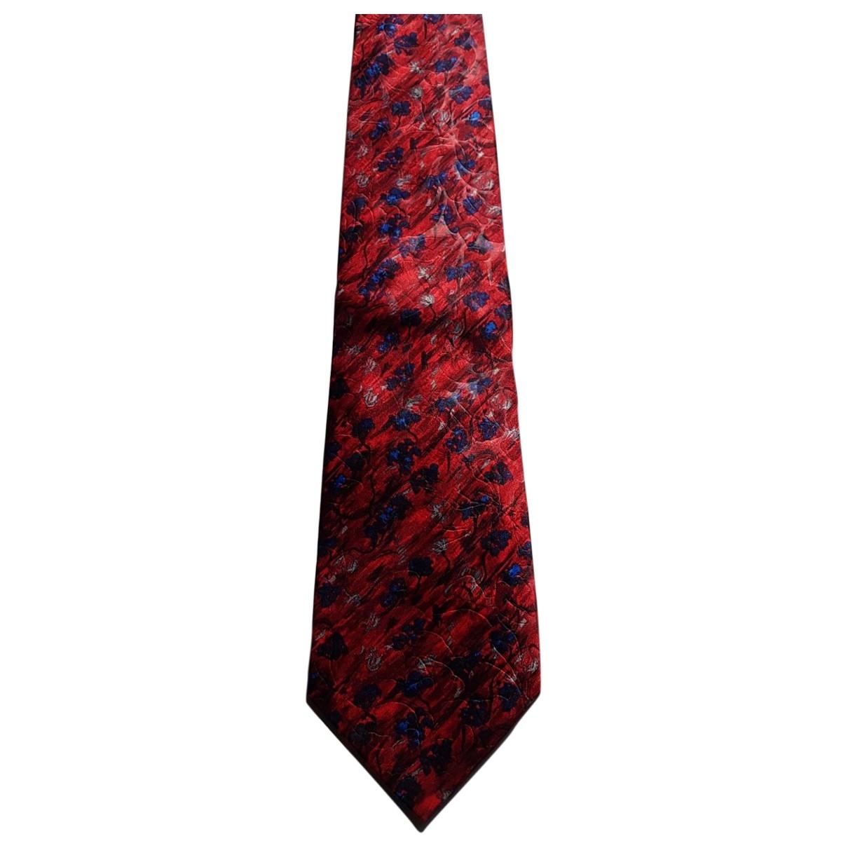 Lanvin - Cravates   pour homme en soie - multicolore