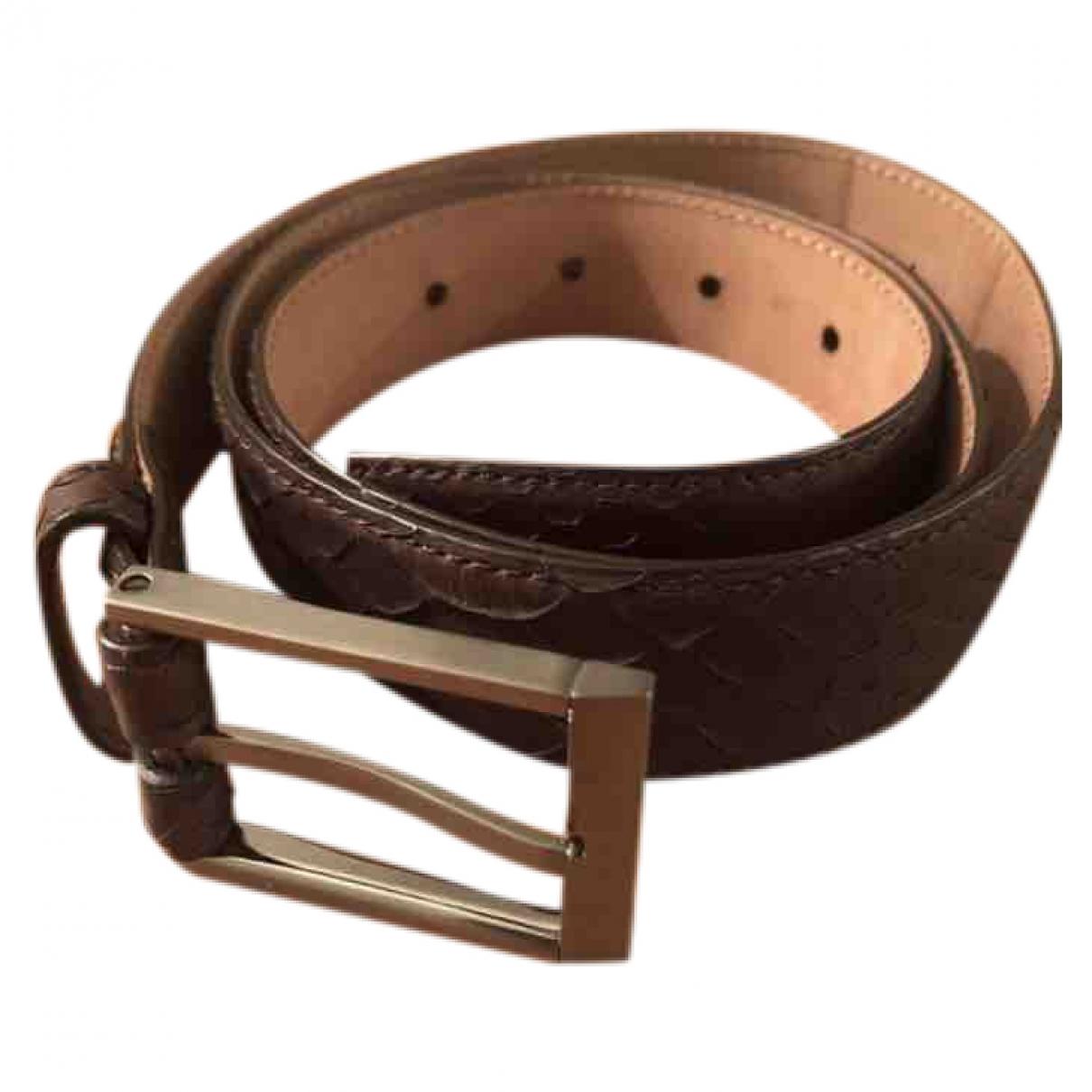 Cinturon de Piton Lanvin