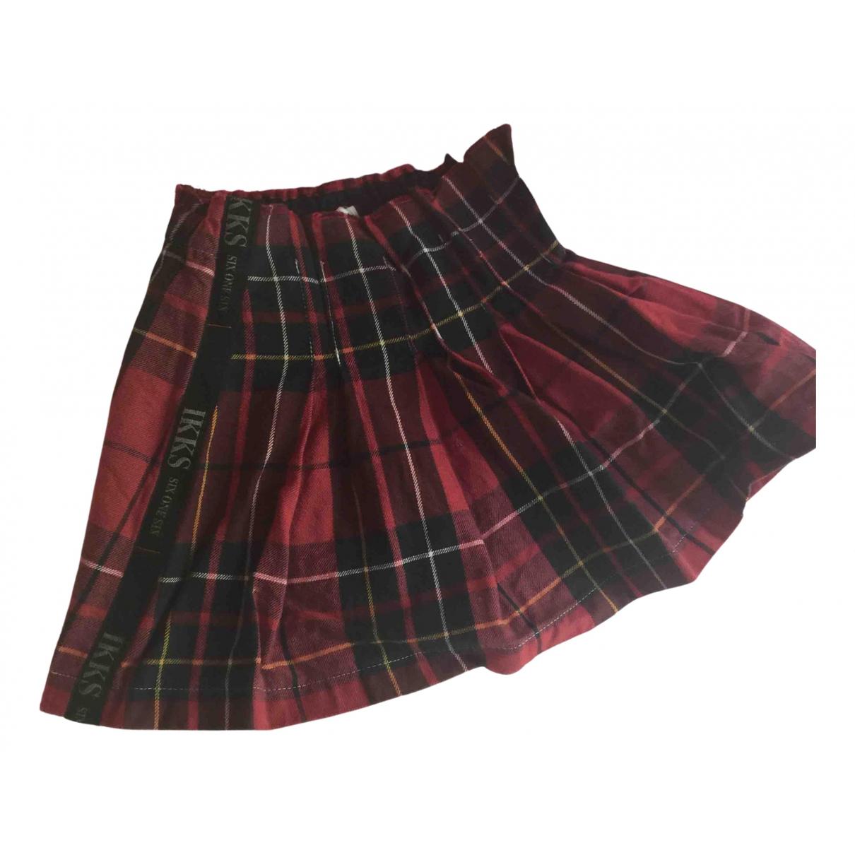 Mini falda de Lana Ikks