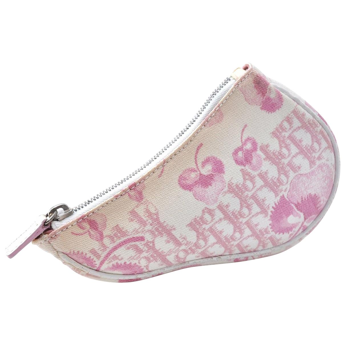 Dior - Sac a main   pour femme en toile - rose