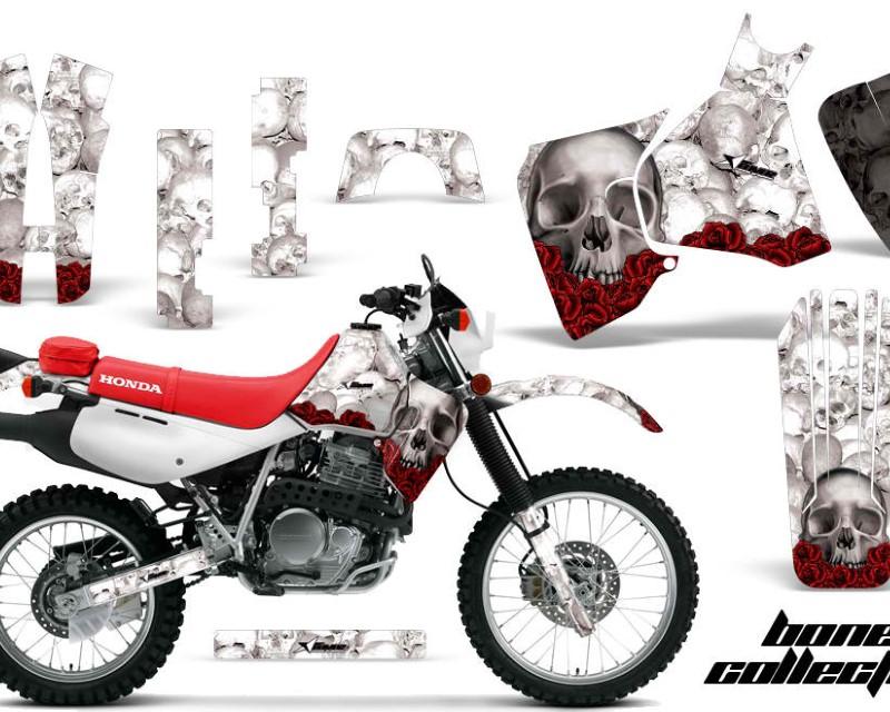 AMR Racing Dirt Bike Decal Graphic Kit MX Sticker Wrap For Honda XR650L 1993-2018áBONES WHITE