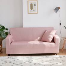Solid Stretchy Sofa Cover Without Cushion