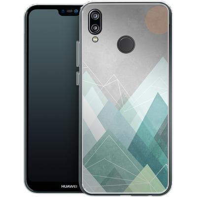Huawei P20 Lite Silikon Handyhuelle - Graphic 107 X von Mareike Bohmer