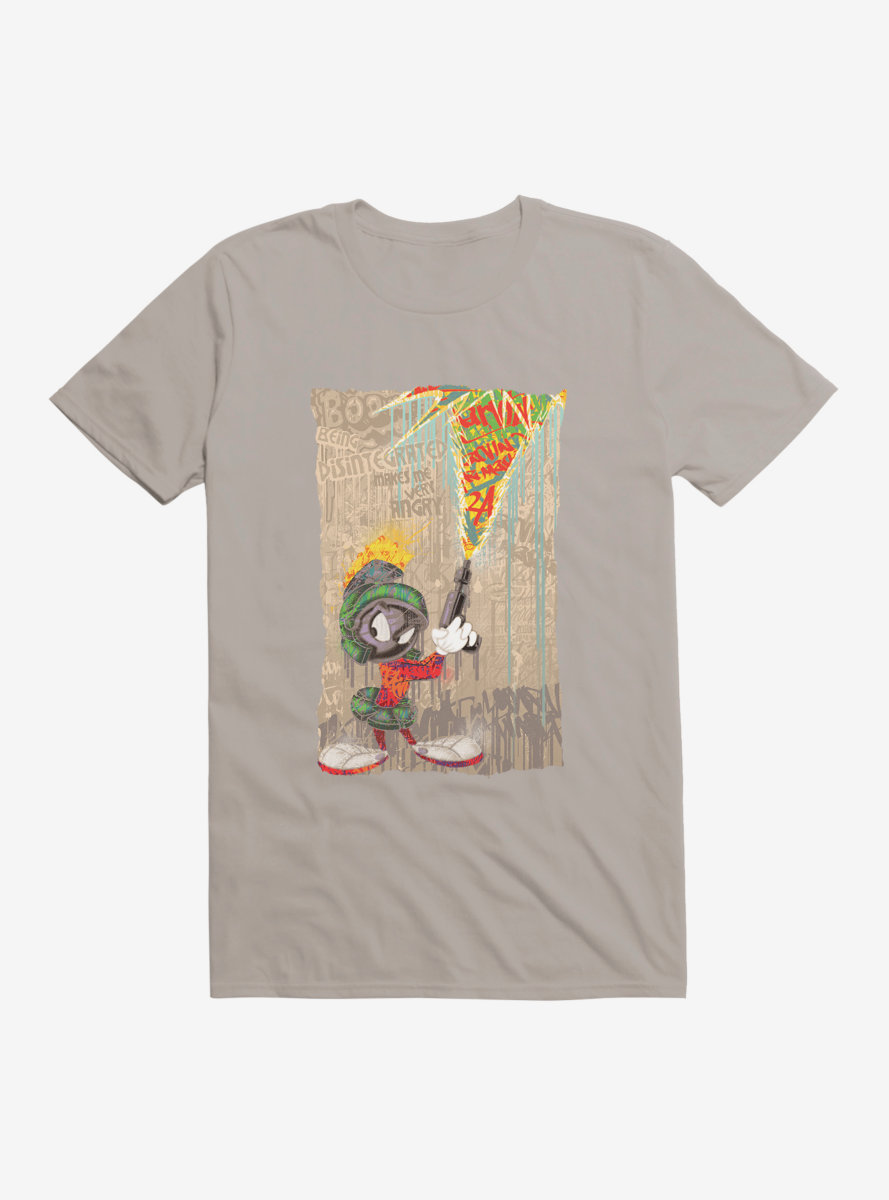 Looney Tunes Marvin The Martian Mania T-Shirt
