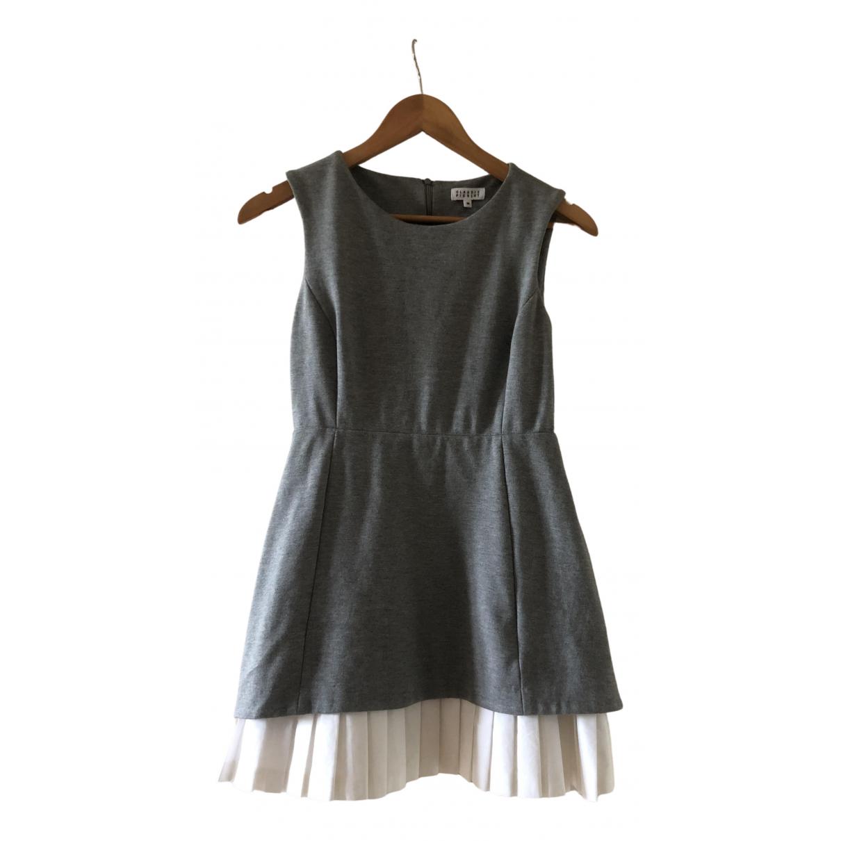 Claudie Pierlot \N Kleid in  Grau Viskose