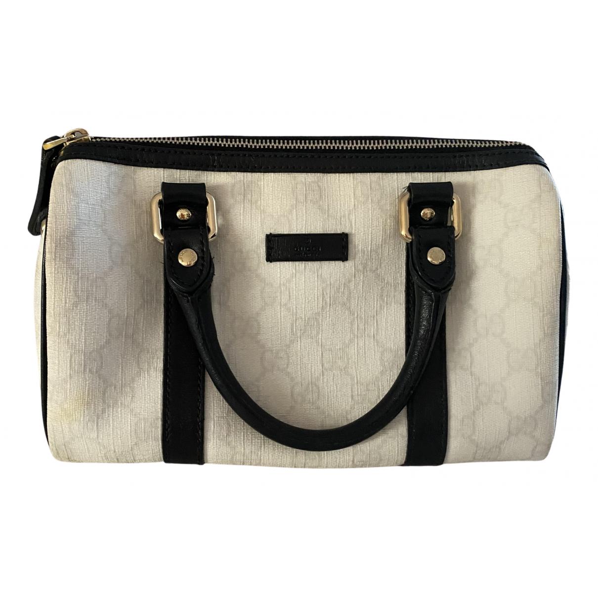Gucci Boston White Cloth handbag for Women \N
