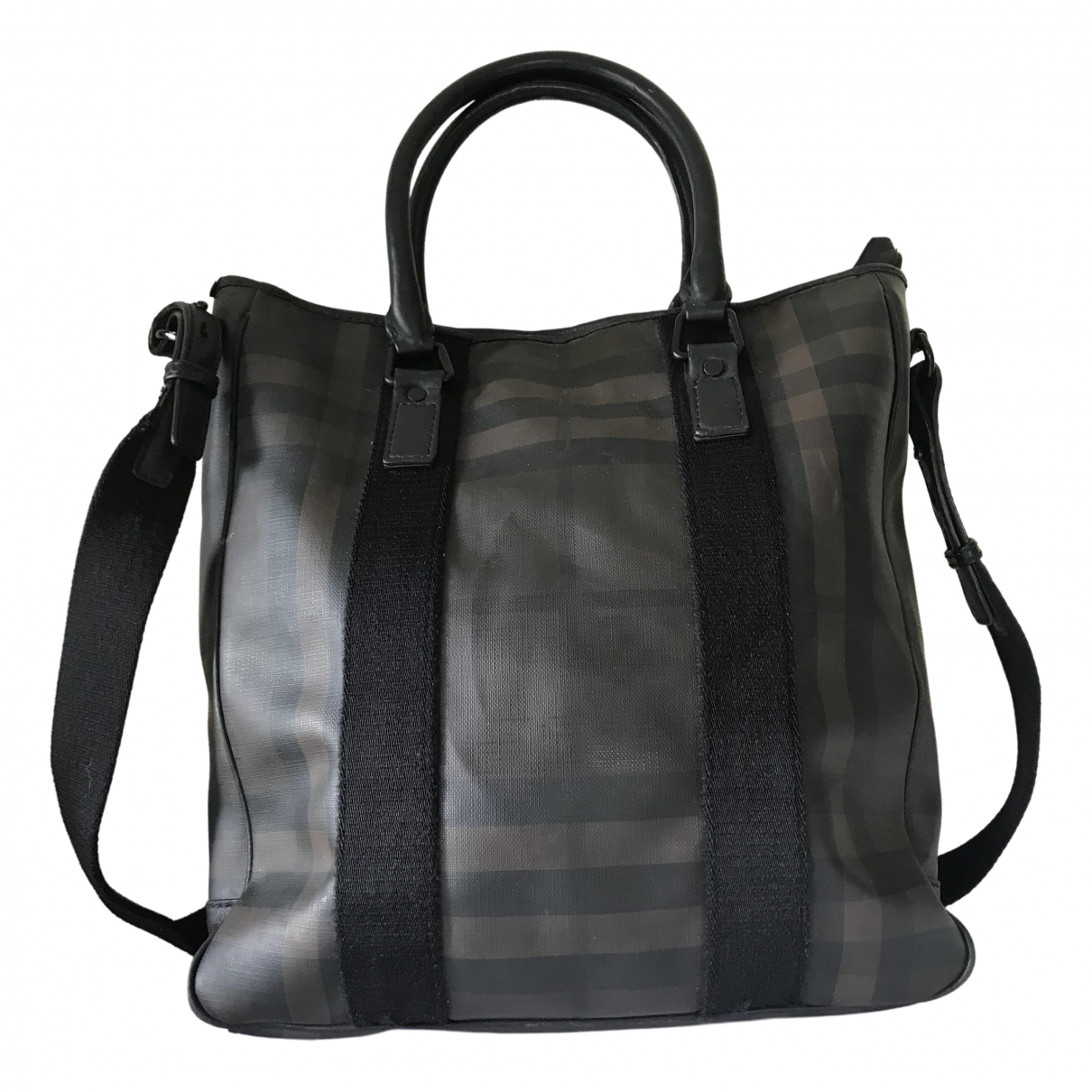 Burberry \N Brown Cloth bag for Men \N