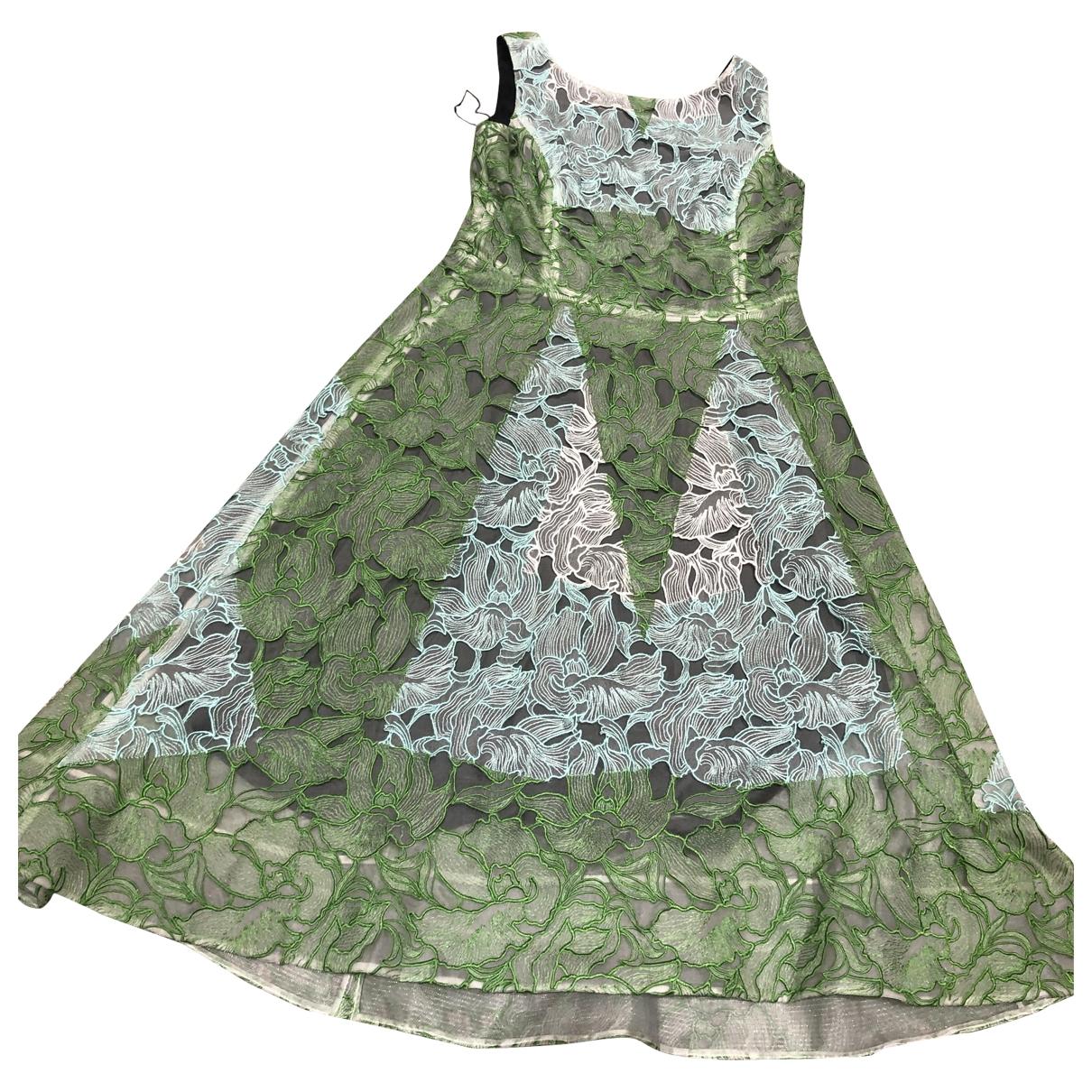 Peter Pilotto \N Kleid in  Gruen Polyester