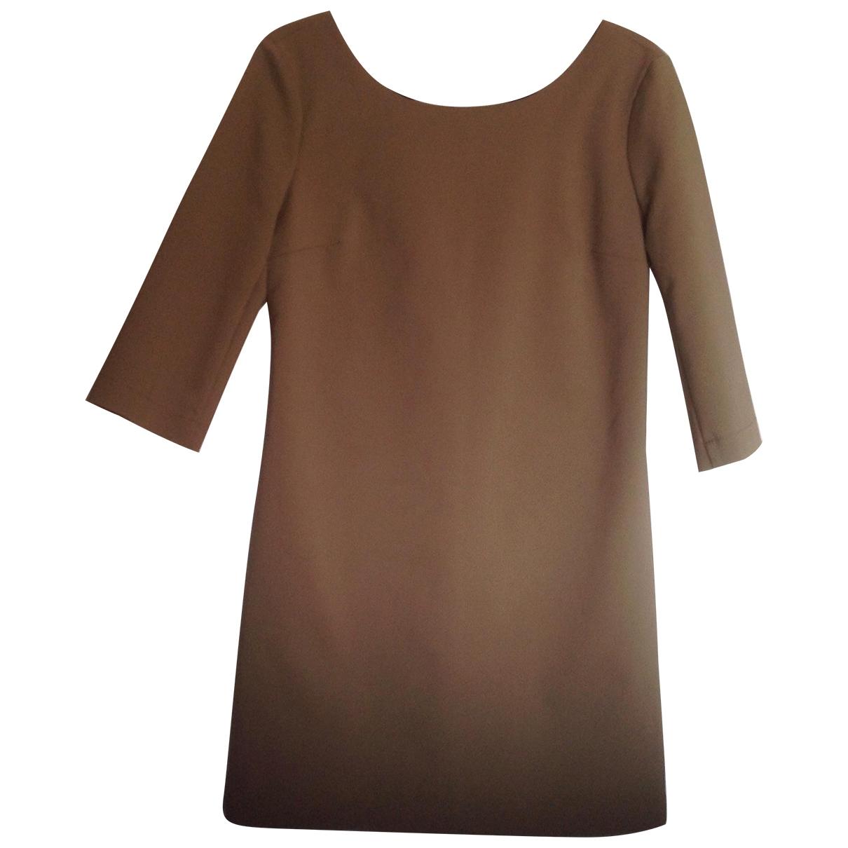 Twin Set \N Kleid in  Ecru Baumwolle - Elasthan