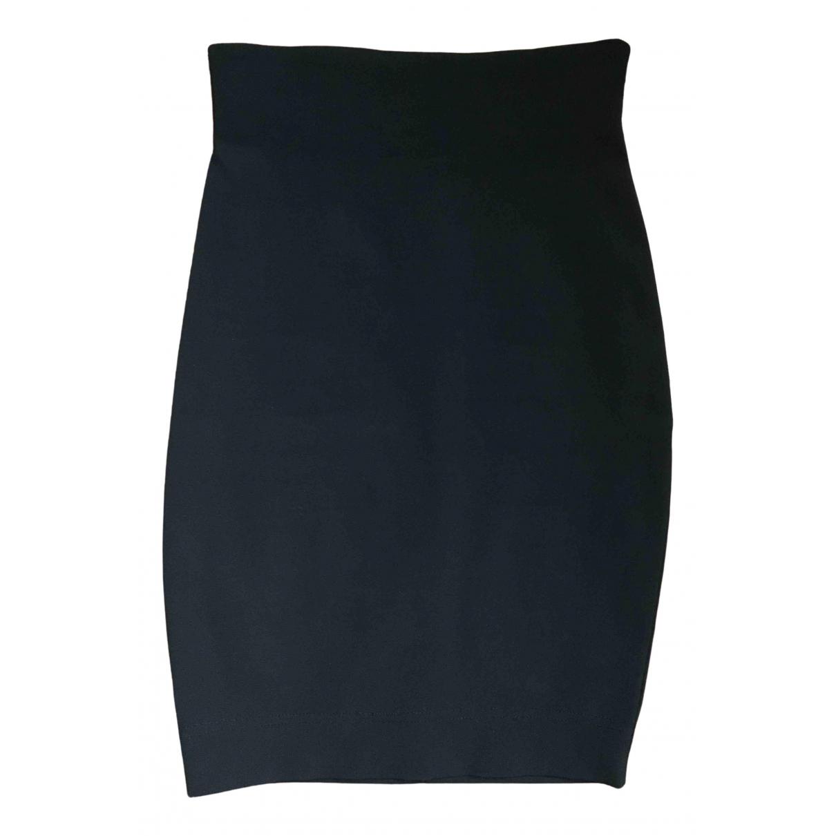 Byblos - Jupe   pour femme en coton - elasthane - noir
