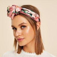 Blumenmuster Stirnband