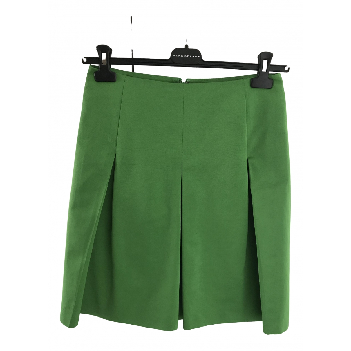 Etro \N Green Cotton skirt for Women 40 IT