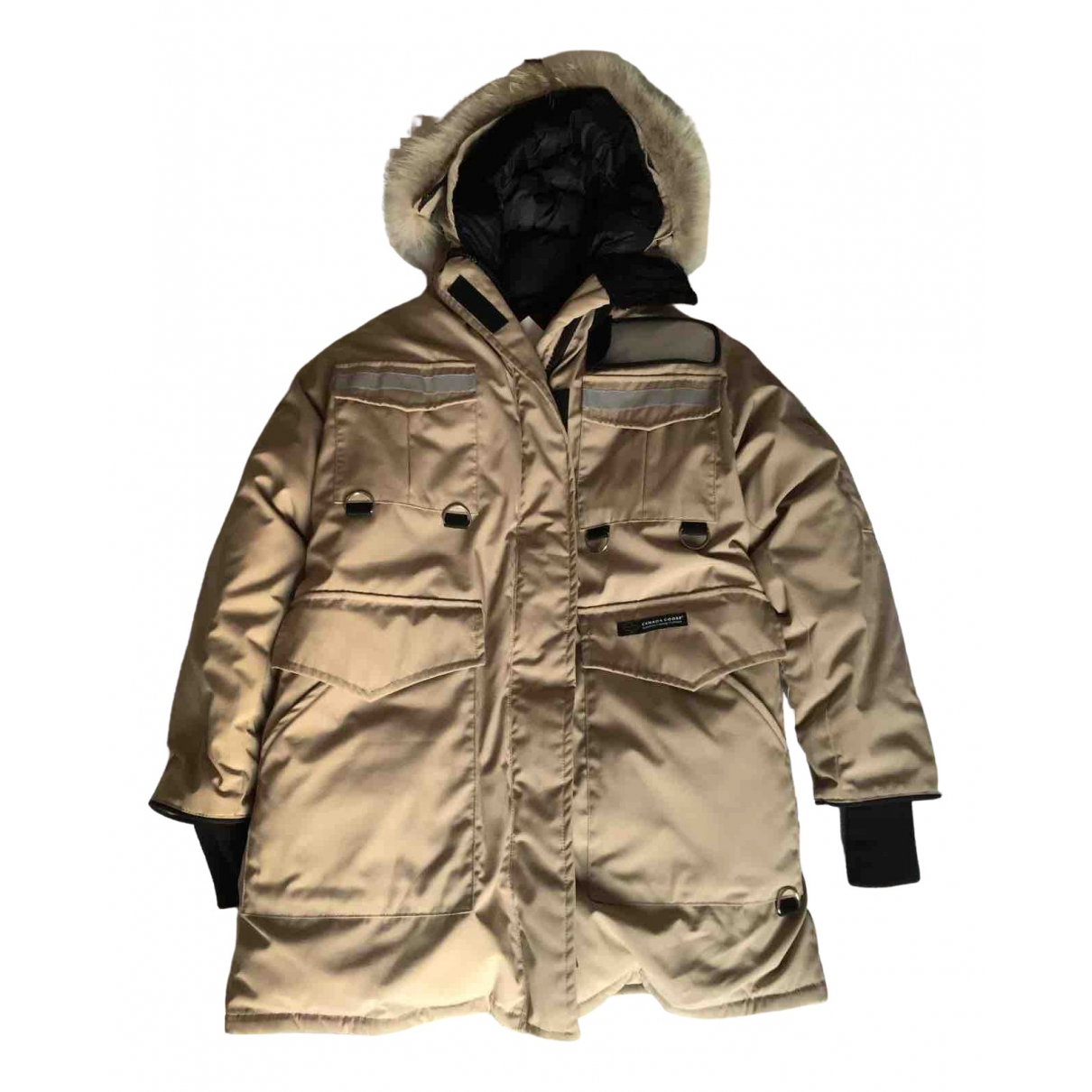 Canada Goose Expedition Maentel in  Beige Polyester