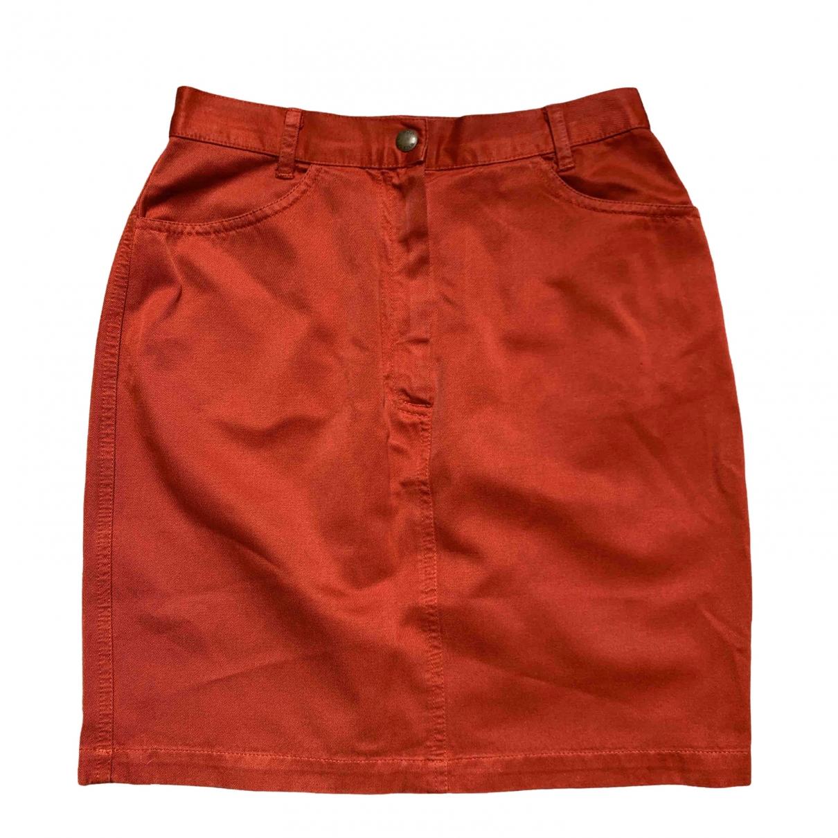 Kenzo - Jupe   pour femme en coton - rouge
