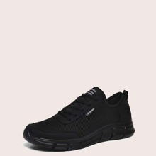 Maenner Sneakers mit Band vorn