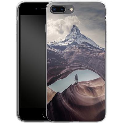 Apple iPhone 8 Plus Silikon Handyhuelle - The Great Outdoors von Enkel Dika