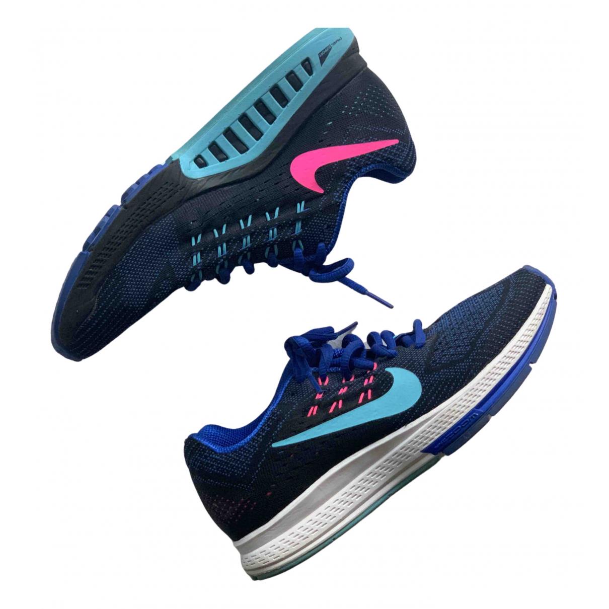 Nike Zoom Sneakers in  Blau Polyester