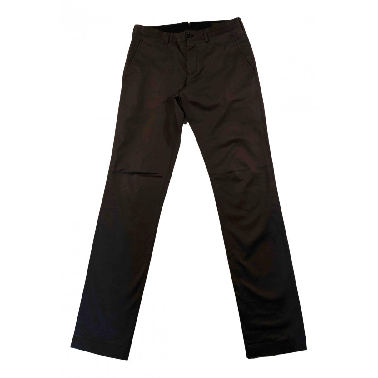 Prada N Grey Cotton Trousers for Men 46 IT