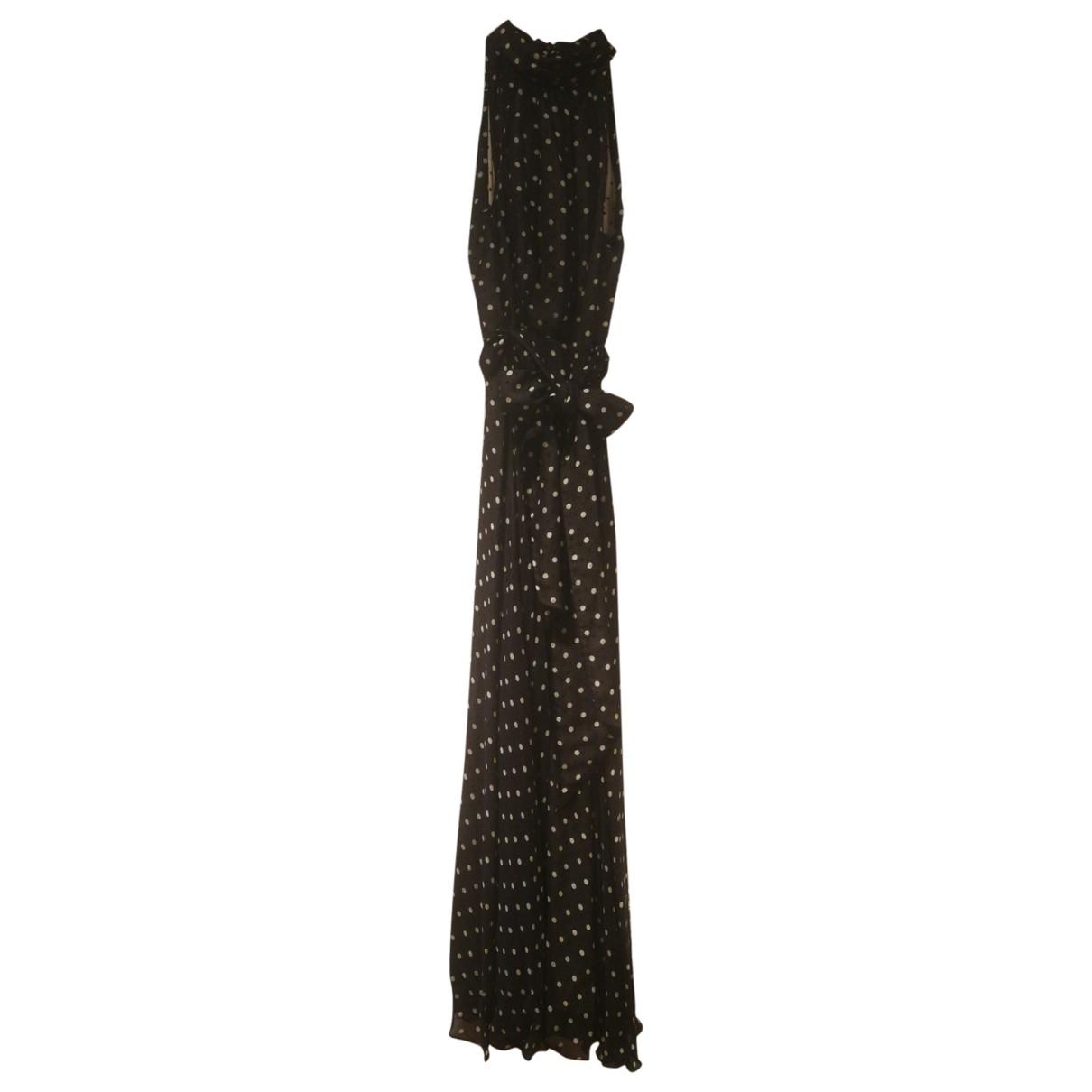 Carolina Herrera - Robe   pour femme en soie - noir