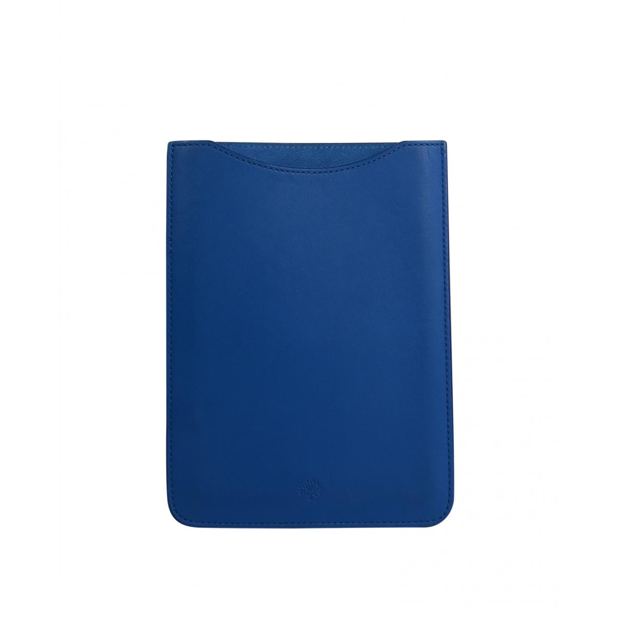 Mulberry \N Accessoires in  Blau Leder
