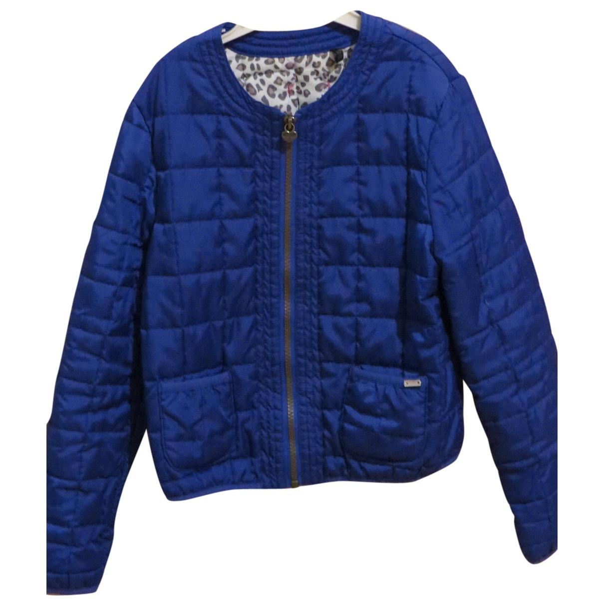 Ikks - Blousons.Manteaux   pour enfant en coton - bleu