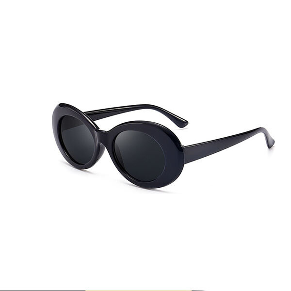 Women Retro Large Metal Frame Polarized Sunglasses Outdoor Casual Driving Glasses