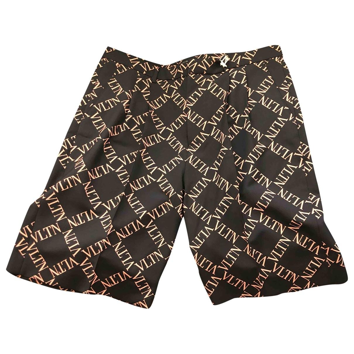 Valentino Garavani \N Navy Shorts for Men 50 IT