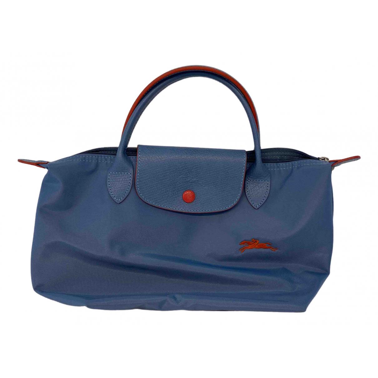 Longchamp - Sac a main Pliage  pour femme - bleu