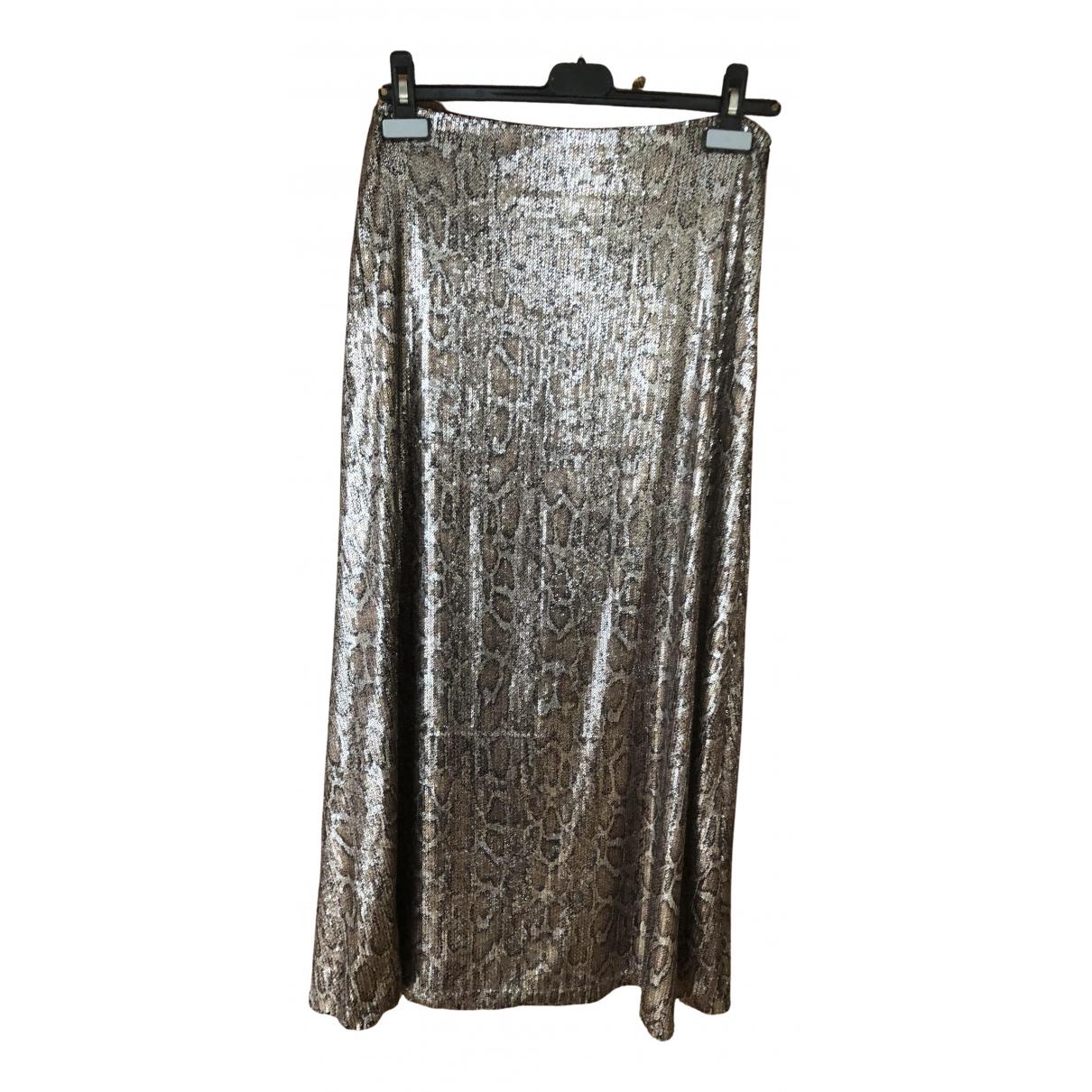 Zara \N Rocke in  Gold Mit Pailletten