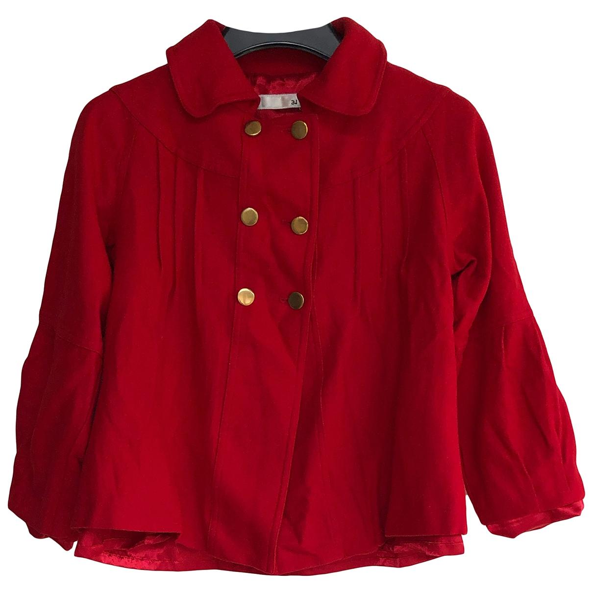 3.1 Phillip Lim \N Red Wool jacket for Women 4 UK
