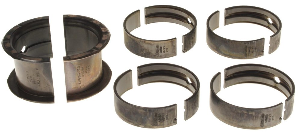 Clevite MS909HX H Series Main Bearing Set - Triarmor Coated Chevrolet Pass Truck 1967-1994