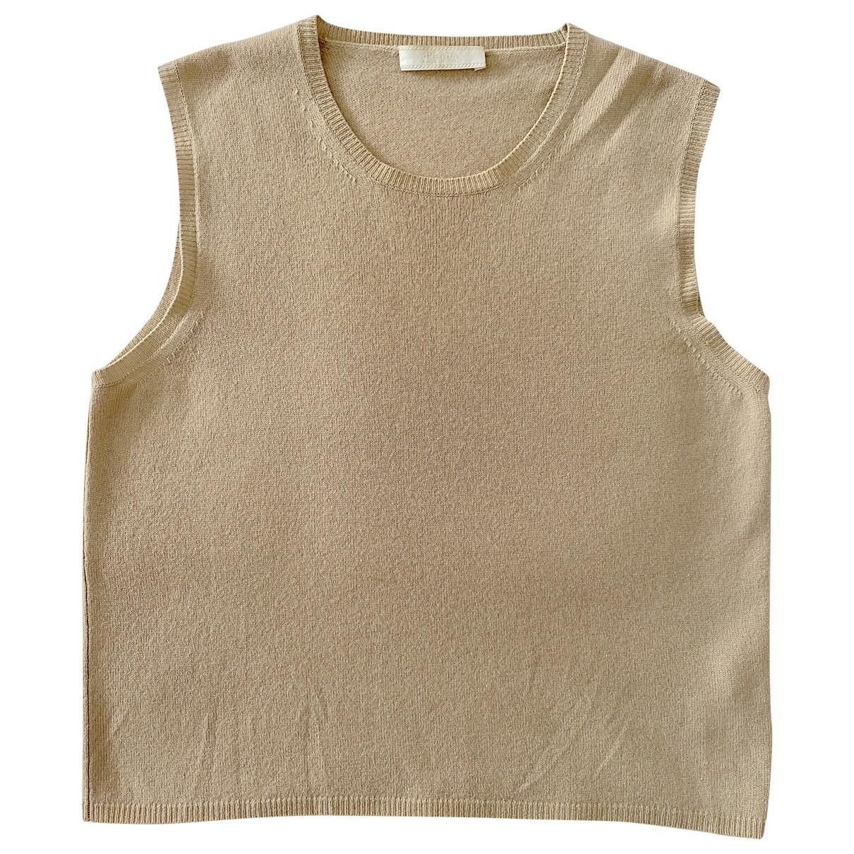 Prada \N Beige Cashmere  top for Women 42 IT