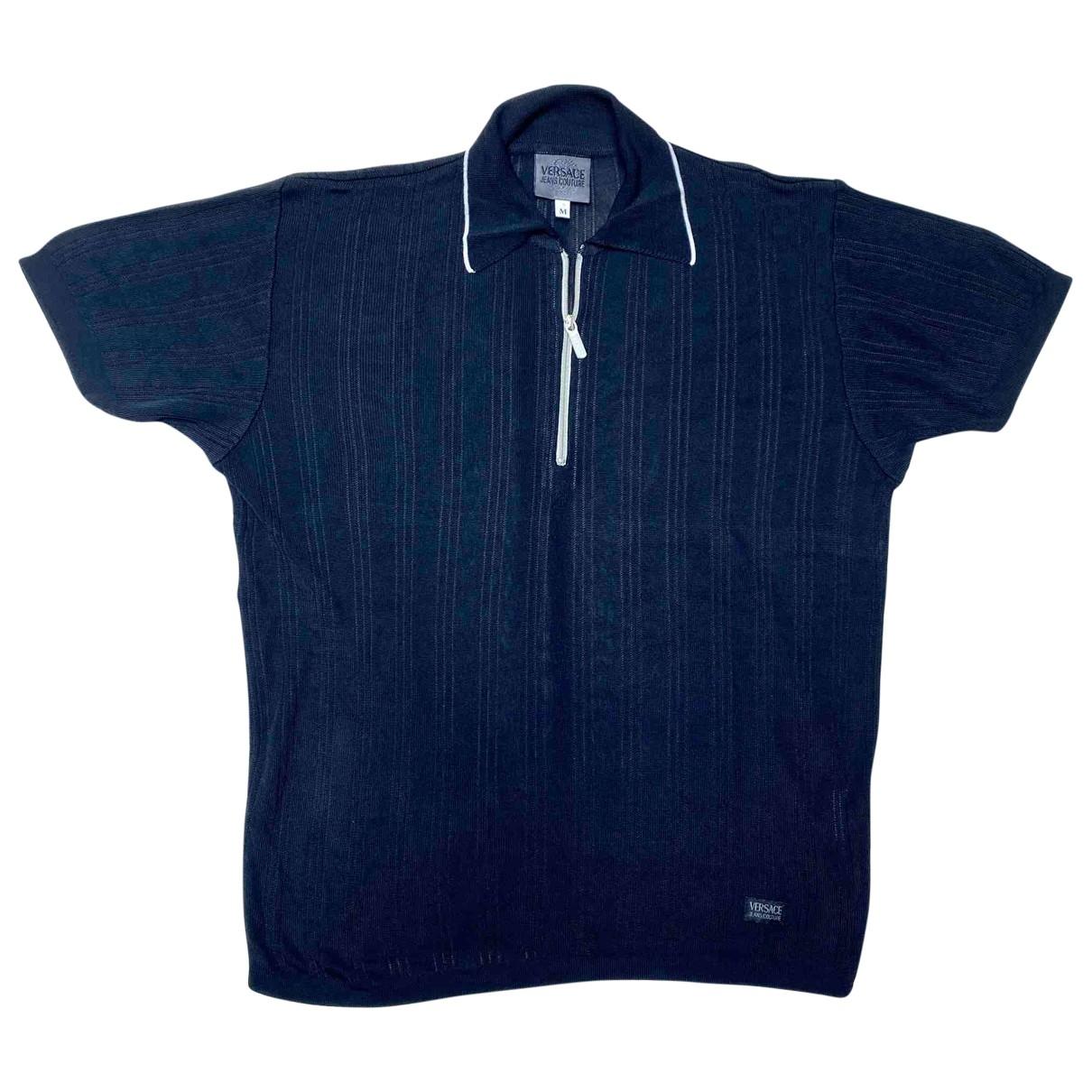 Versace Jean - Polos   pour homme - noir