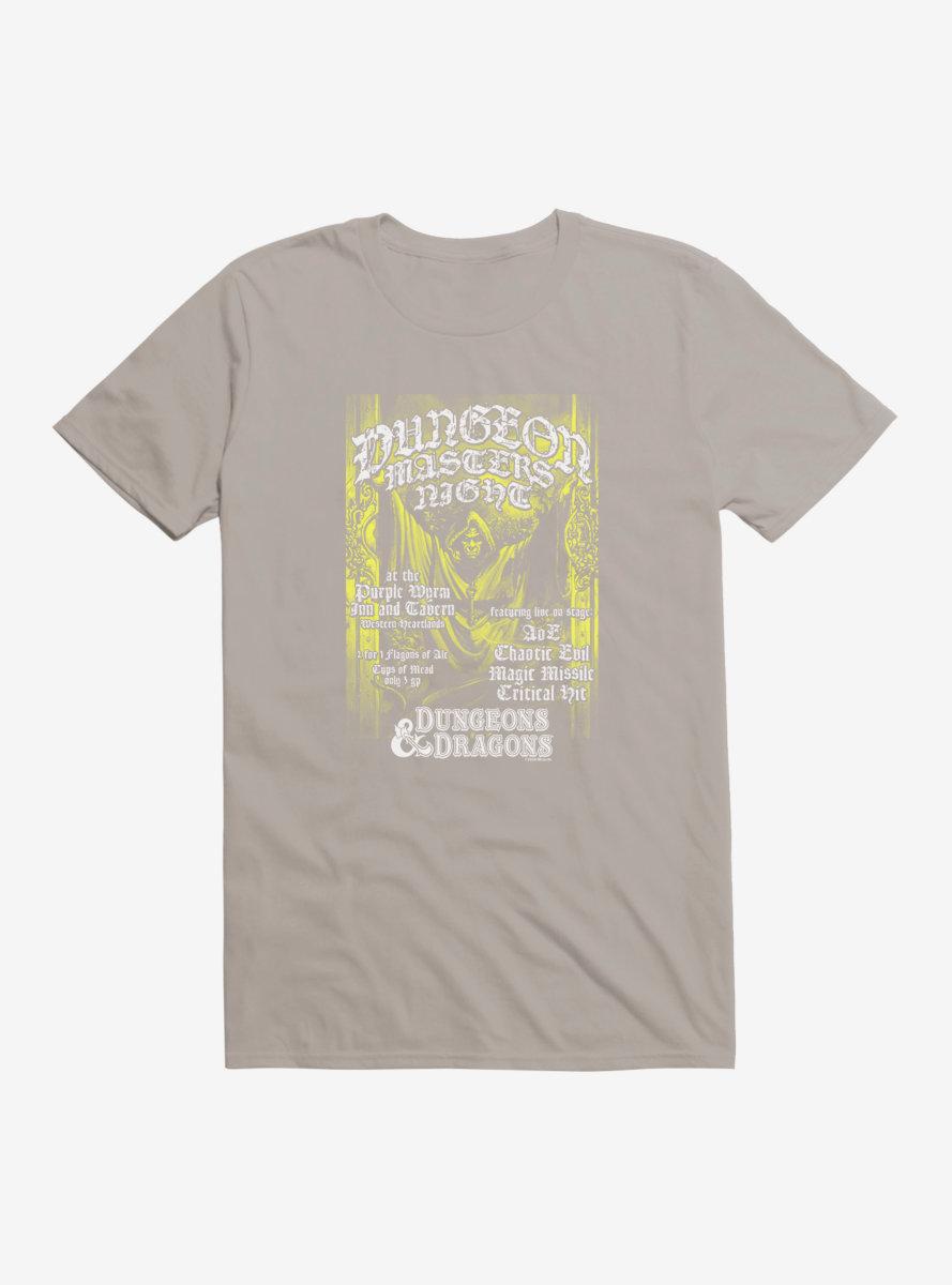 Dungeons & Dragons Masters Night T-Shirt