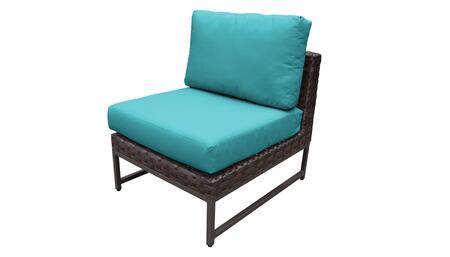 TKC049b-AS-BRN-ARUBA Barcelona Armless Chair - Beige and Aruba
