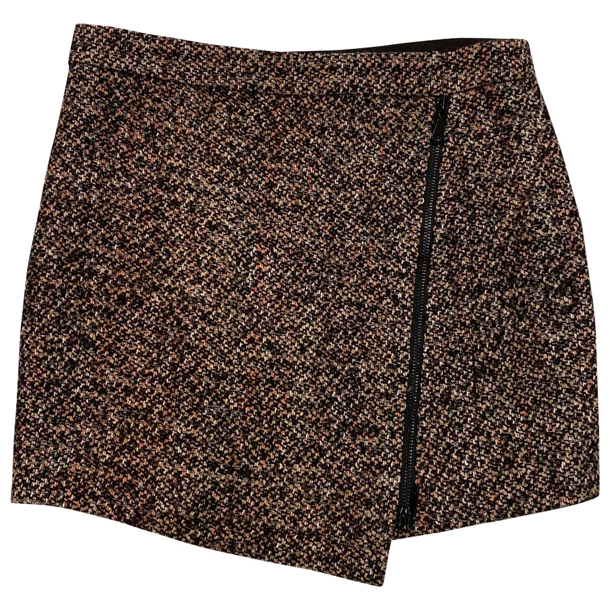 Rebecca Minkoff - Jupe   pour femme en laine - rose