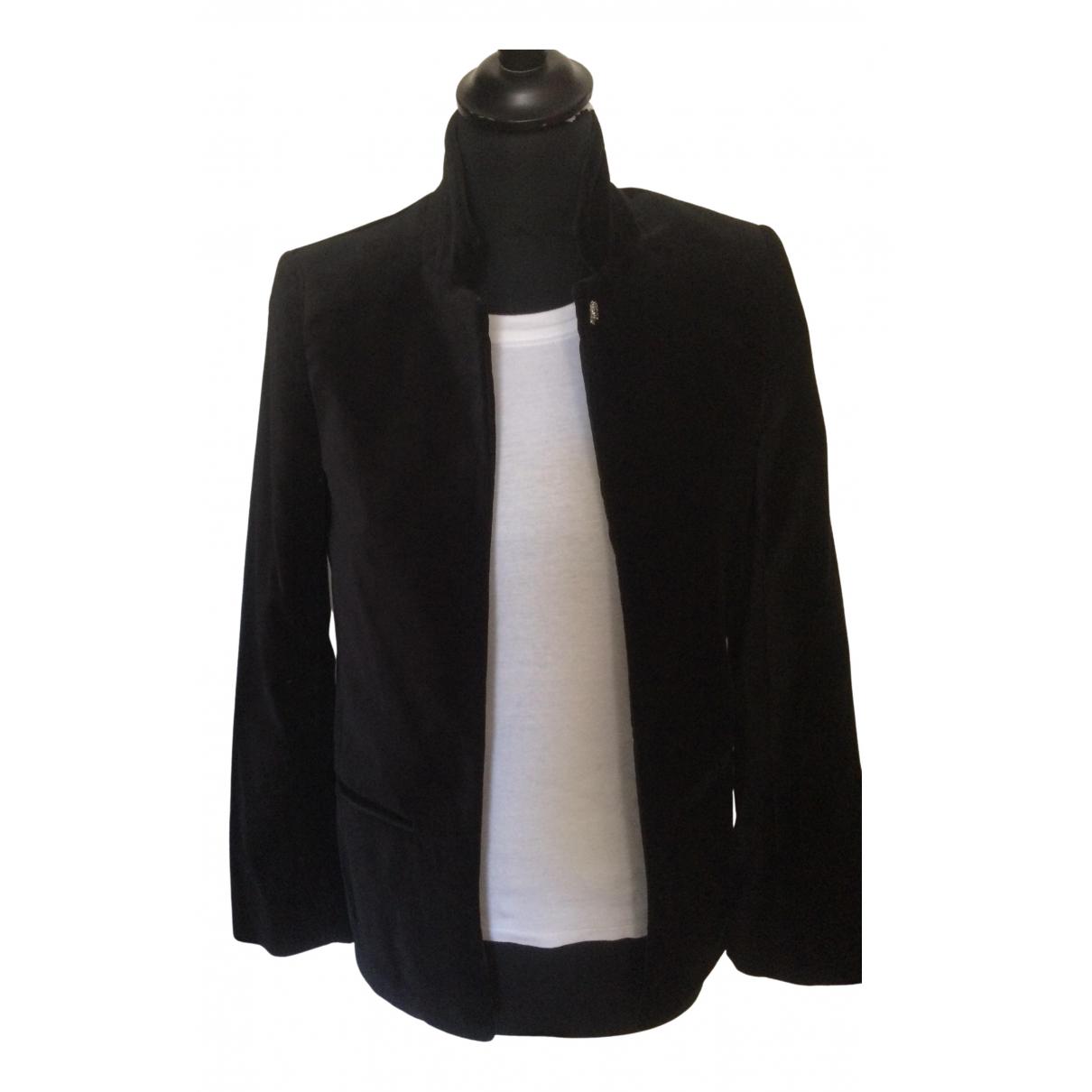 Zadig & Voltaire \N Black Cotton jacket for Women 34 FR